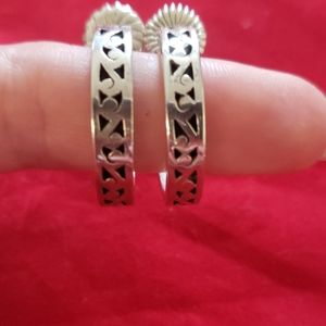 Lois Hill sterling earrings